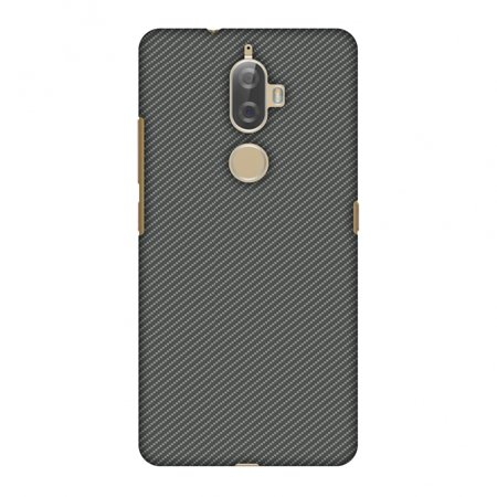 Neutral Kit - Lenovo K8 Plus Case, Premium Handcrafted Designer Hard Shell Snap On Case Printed Back Cover with Screen Cleaning Kit for Lenovo K8 Plus, Slim, Protective - Neutral Grey Texture