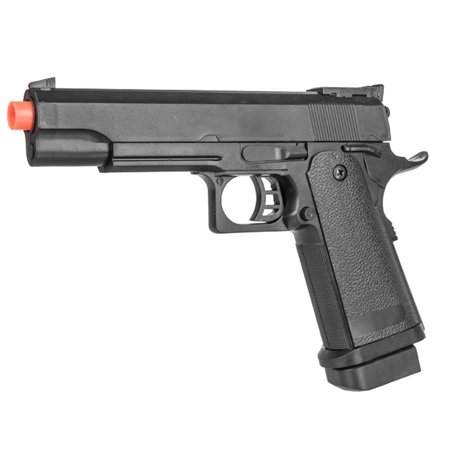 P2001A SPRING POWERED TACTICAL AIRSOFT PISTOL W/ 6MM BBS + DETACHABLE -