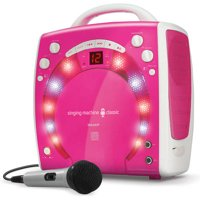 The Singing Machine SML283BK Portable Karaoke Systems (Black)