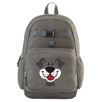Personalized Big Face Charcoal Backpack Collection