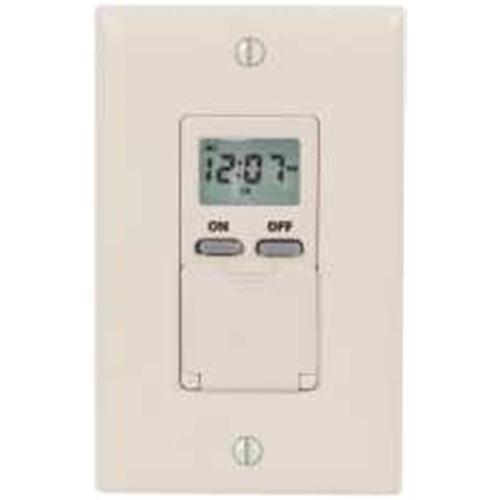 Intermatic Inc 610226 Digital 7-Day Timer 15A 120V White