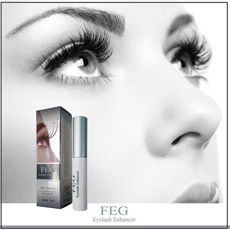 9be92e472a5 FEG Eyelash Enhancer Growth Liquid/Serum. 100% Original with Anti-Fake  sticker!!! + Eyelashs and eyebrow brush!!! - Walmart.com