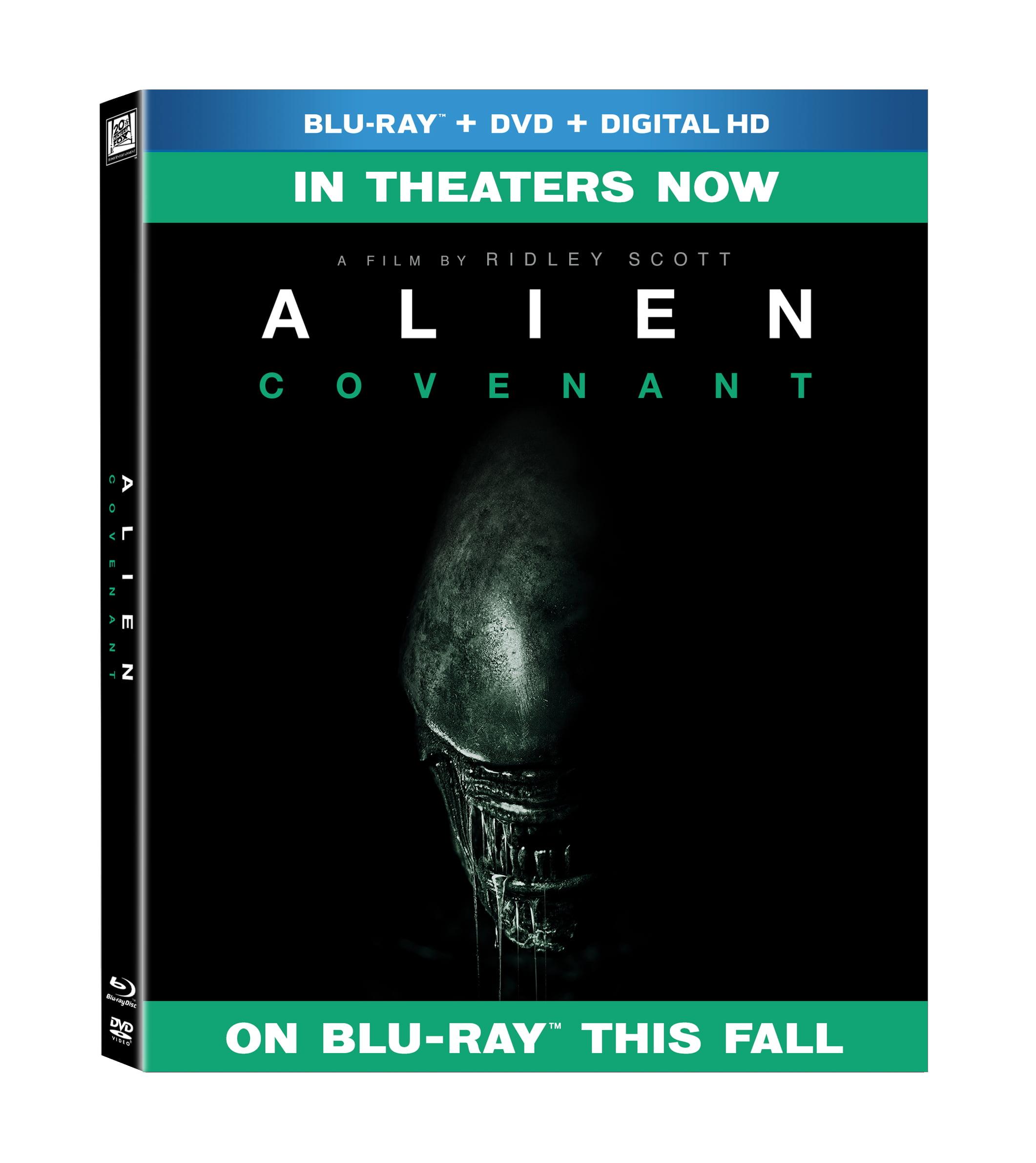 Alien: Covenant (Blu-ray + DVD + Digital HD) by Twentieth Century Fox