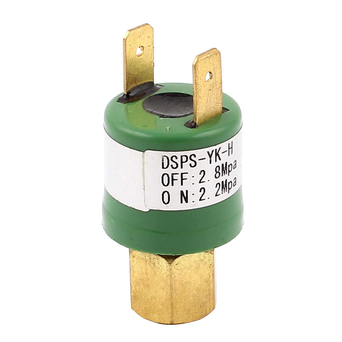 Unique Bargains Air Conditioner Refrigeration Heat Pump 2.2-2.8Mpa Pressure Control Switch