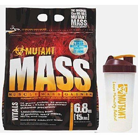 Mutant Mass Gainer 15 Pound W / Shaker (Cookies & Cream)