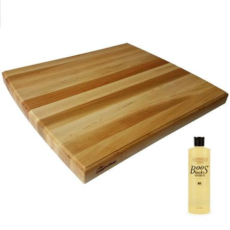 HomeProShops Wood Butcher Block Cutting Board - 1-1/2