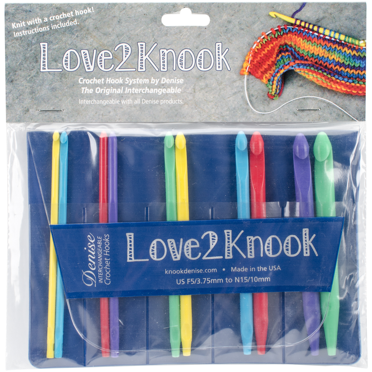 Love2Knook Knooking Set-Sizes F5-15