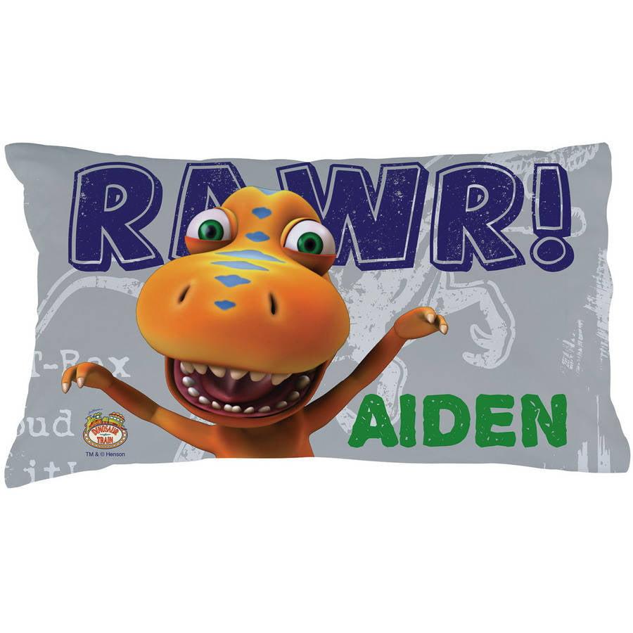 Personalized Dinosaur Train RAWR Pillowcase