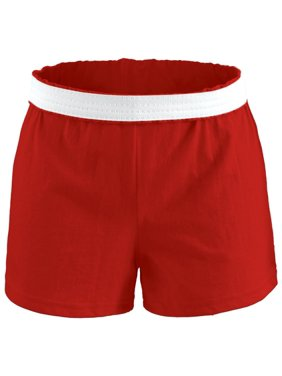 Soffe Girls' Cheer Shorts (Red, S)