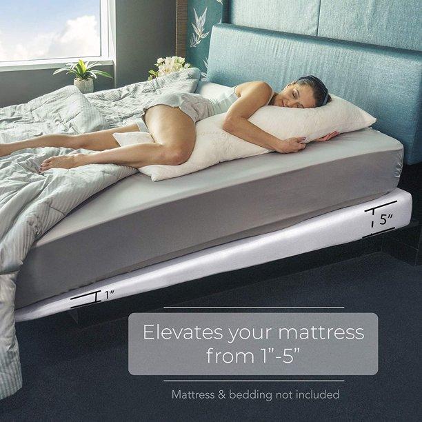 """Avana Mattress Elevator - 5-Inch Size - Gentle Incline Under Mattress Riser Support, 5"""", King"""