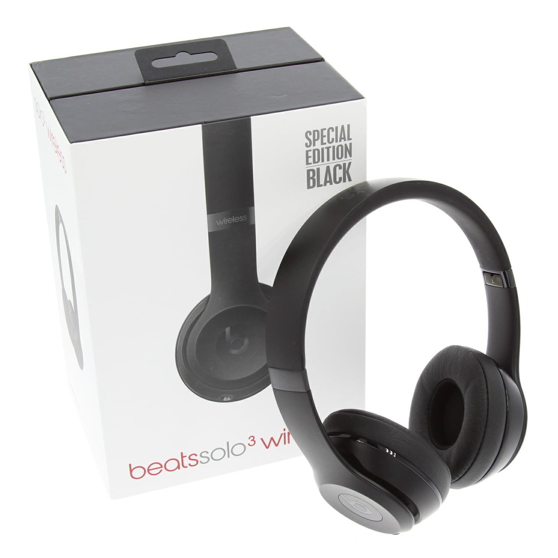 Solo3 Wireless Headphones Speacial Editon Mp582ll A Matte Black Walmart Com Walmart Com