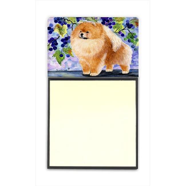 Carolines Treasures SS8251SN Pomeranian Refiillable Sticky Note Holder or Postit Note Dispenser, 3 x 3 In. - image 1 of 1