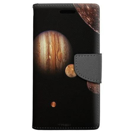 LG Rebel 2 Wallet Case - Jupiter Moons Case
