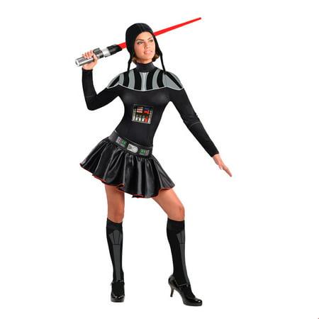 Star Wars Womens Female Darth Vader Halloween Costume