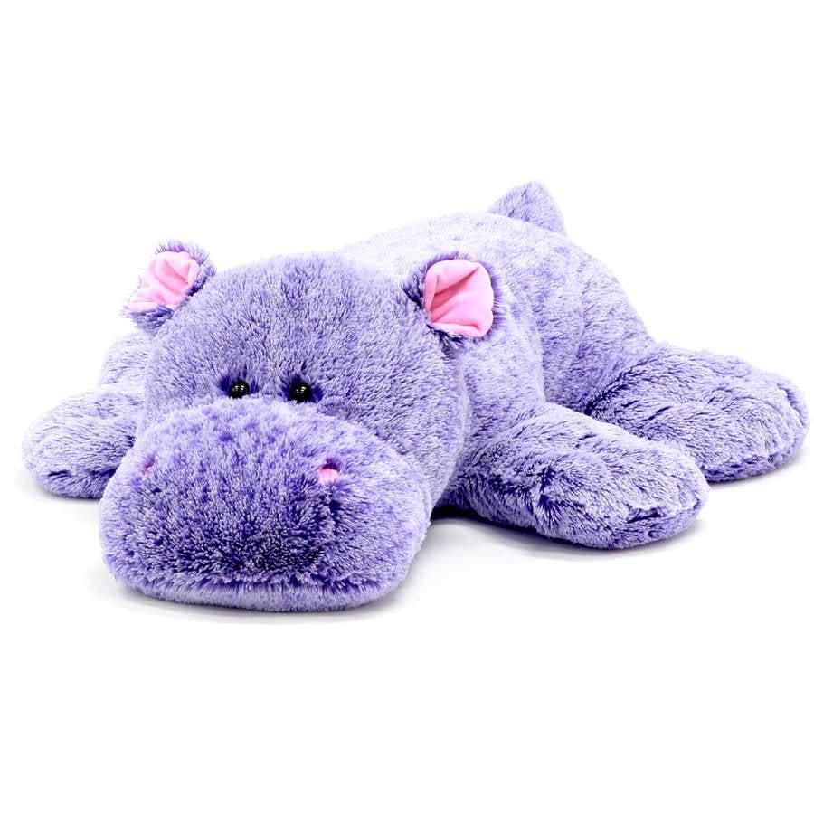 Spark 39 Stuffed Plush Fluffy Floppy Animal Hippo Walmart Com