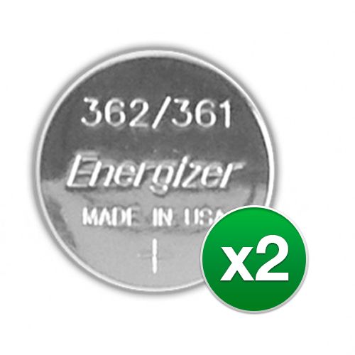 Replacement Battery for Energizer 361 362 (2-Pack) Replacement Battery by Energizer
