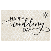 Happy Wedding Day Walmart eGift Card