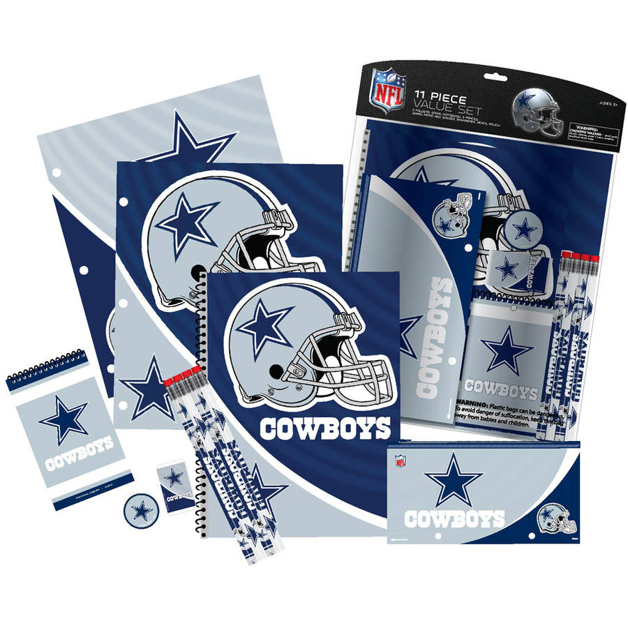 NFL Dallas Cowboys 11 Piece Stationery Set