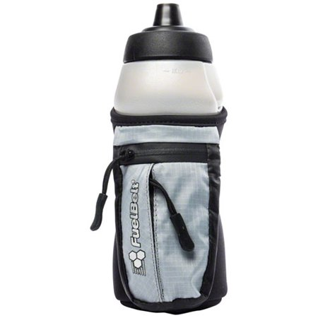 FuelBelt Helium Enduro Fuel Hand-hel Hydration: Black/Gray, 16oz - Helium Bottle