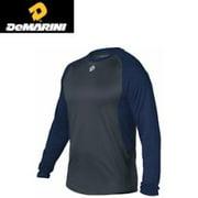 DeMarini Performance Team Shirt - Long Sleeve - Navy - XXL