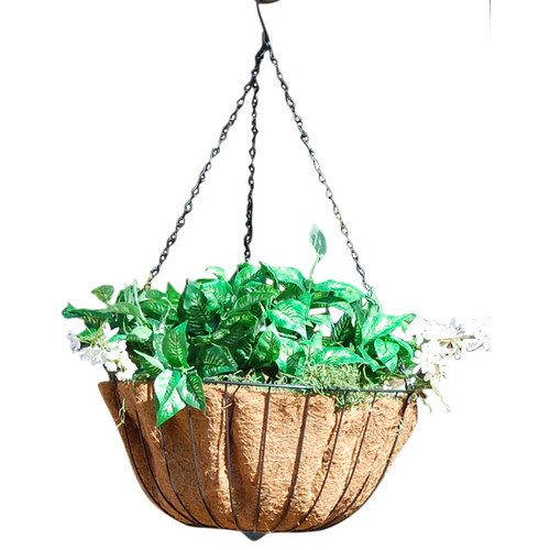 Griffith Creek Designs Hyde Park Round Hanging Planter