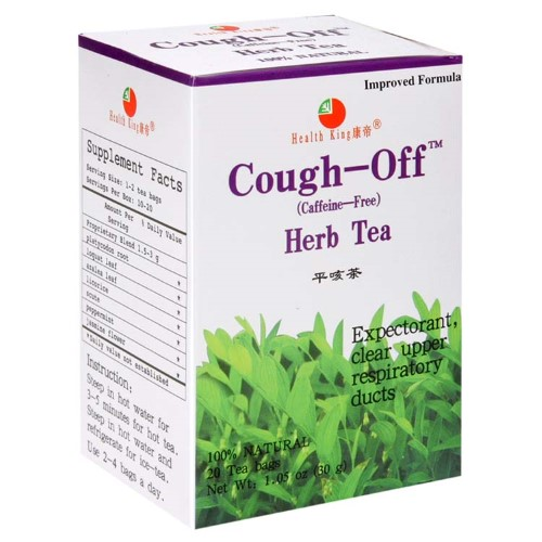 Health King Cough-Off Tea, 20 Ct