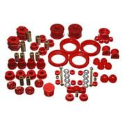 Energy Suspension 96-00 Honda Civic/CRX Red Hyper-Flex Master Bushing Set
