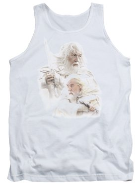 The Lord of The Rings Movie Gandalf The White Adult Tank Top Shirt