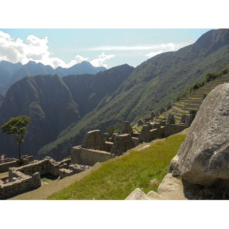 LAMINATED POSTER Peru Inca Trail Backpackers Inca South America Poster Print 24 x 36