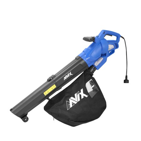 AAVIX AGT309 12 Amp All-in-One Electric Blower/Mulcher/Vacuum  6 speeds Electric Blower
