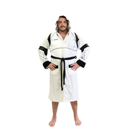 Star Wars Stormtrooper Fleece Costume Robe (One Size) - Star Wars Robes
