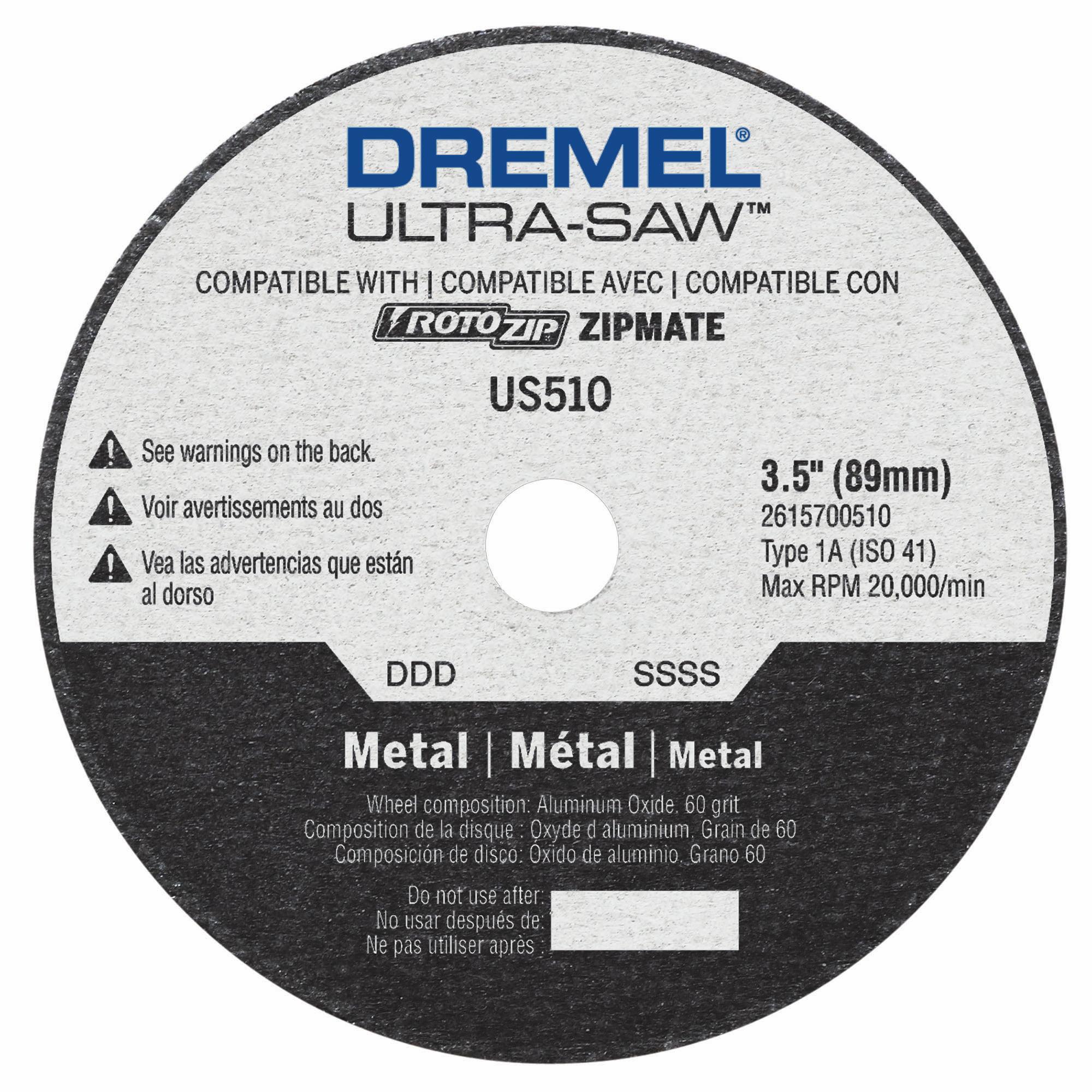 Dremel US510-01 3.5 In. Metal Cutting Wheel