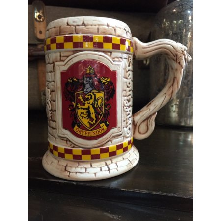Universal Studios The Wizarding World Harry Potter Gryffindor Stein Coffe Mug New - Universal Studios Shop