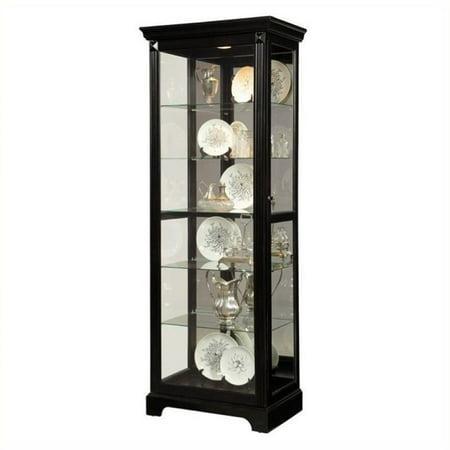 Beaumont Lane Curio Cabinet in Black