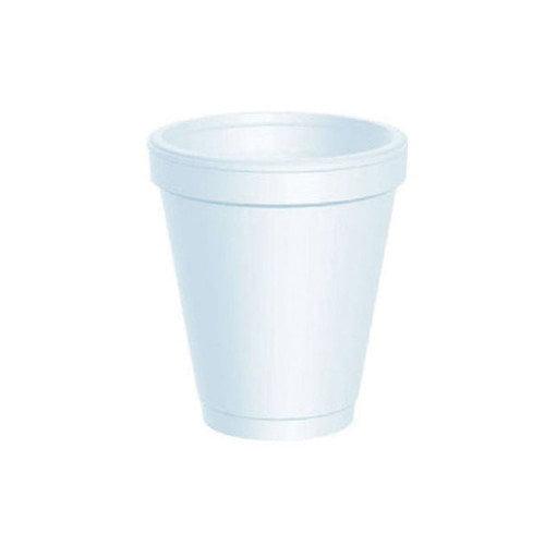 Bunzl 6 oz. Styrofoam Cup (1000 Per Case)
