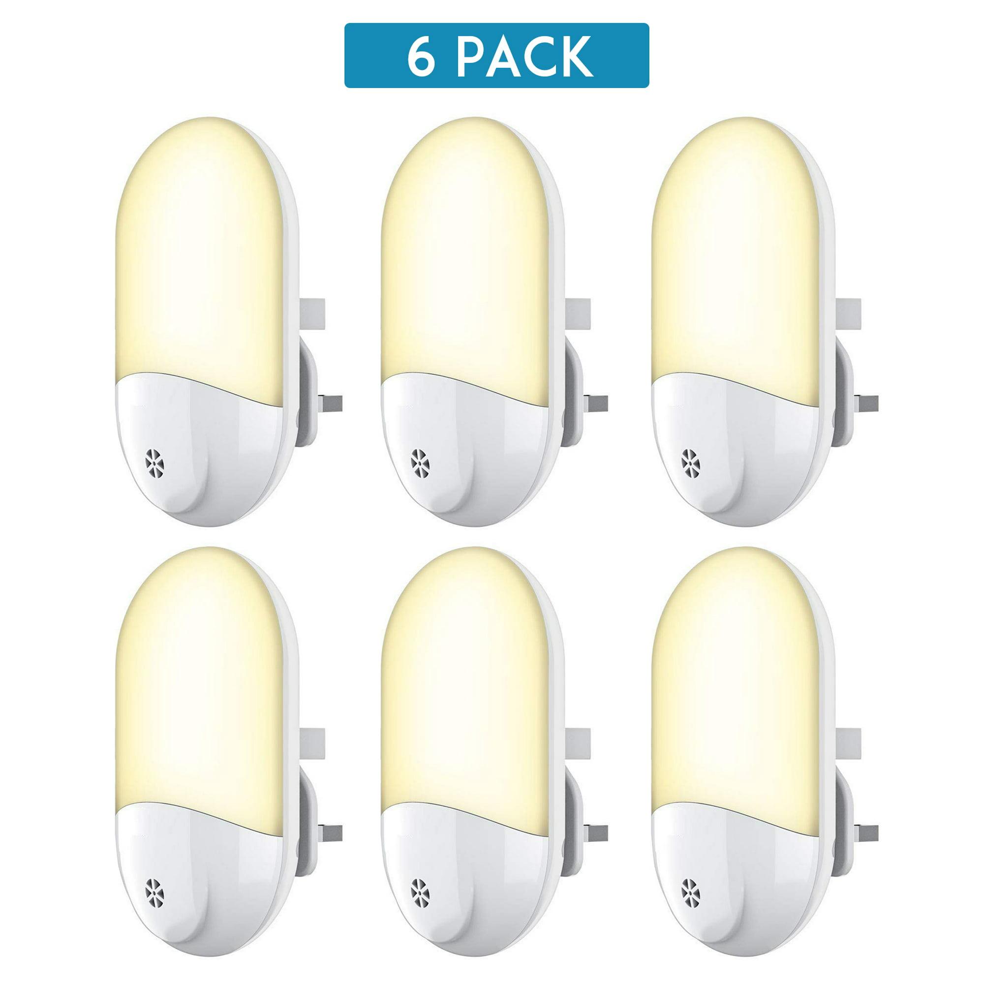 Warm White Energy Efficient Kids Lighting Plug In Night Lights Smart Induction Small Light Nightlight For Hallway Bathroom