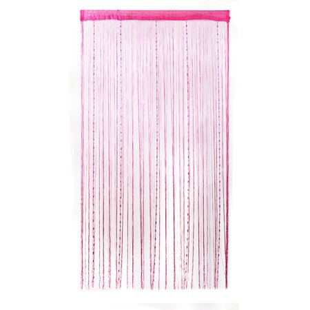 PiccoCasa Drop Beads Chain String Door Curtain Panels Room Divider