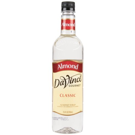 Almonds Syrup (Da Vinci Syrup - Almond - PET)