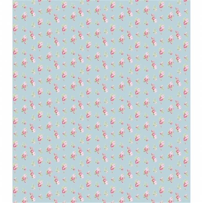 13.75 x 15.75 in. Tossed Roses Blue Decoupage Papers, 3 per Pack