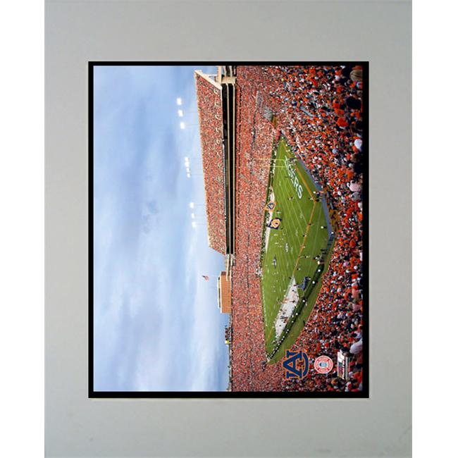 Encore Select M2-CFBAUStadium-2 Auburn University Stadium 11X14 Double Matted Photo