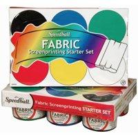 Speedball Fabric Screen Printing Starter Set