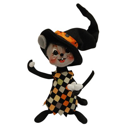 Annalee Dolls 6in 2015 Halloween Trickster Egg Toss Mouse Plush New with Tags
