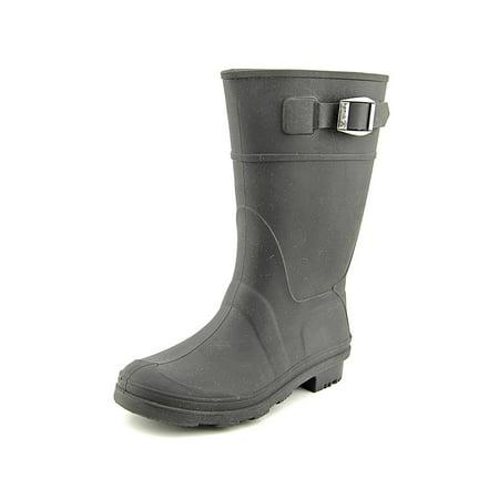 Kamik Youth Round Toe Synthetic Black Rain - Youth Bordeaux Footwear