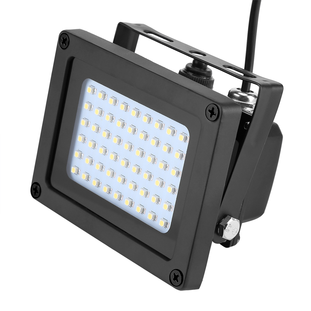 Details about  /Solar Panel Power 54LED Floodlight Outdoor Garden Light Dust To Dawn Lawn Lamp