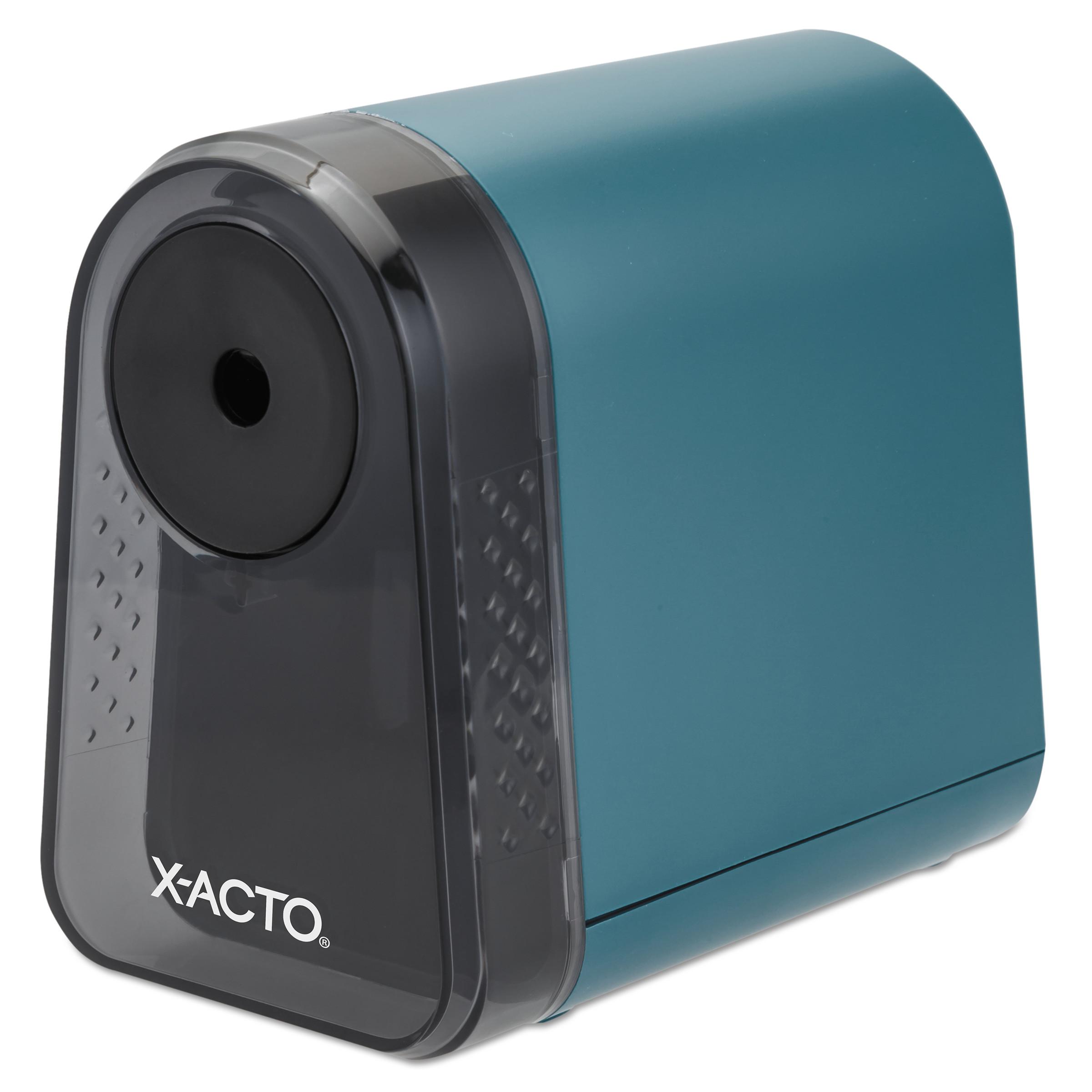 X-ACTO Mighty Mite Desktop Electric Pencil Sharpener ... X Acto Electric Pencil Sharpener
