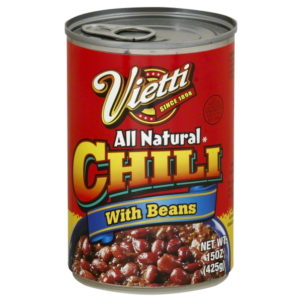 Vietti Chili with Beans, 15 oz
