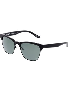 03c1a65ad2 Product Image Spy Polarized Loma 873498108864 Black Semi-Rimless Sunglasses