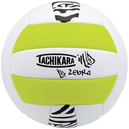 Tachikara SofTec Zebra Volleyball