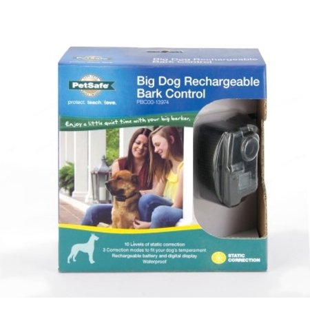 PetSafe Rechargeable Bark Control Dog Collar, Large