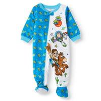 Toy Story Baby Boy Microfleece Blanket Sleepers Pajamas